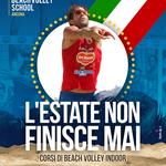 ADV realizzata per la Beach Volley School (AN) del pluricampione PAOLO FICOSECCO