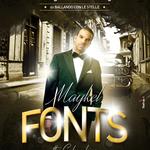 Flyer realizzato per lo show di Maykel Fonts a Forza D'Agrò