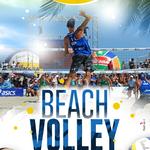 Locandine e manifesti realizzati per il torneo di Beach Volley di Letojanni