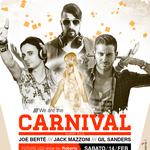 Flyer realizzato per il party di Carnevale al Privilege Sicily
