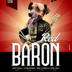 Poster realizzato per la band rock/fusion Red Baron