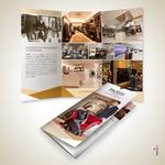 Brochure a 3 ante realizzata per il gruppo PARISI TAORMINA