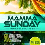 Flyer realizzato per il Mamma Mia Beach di S.Teresa di Riva