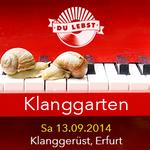 13.09.14 // Live: THE! (Headphonica, Weimar) // Du Lebst DJ Team // Live Poetry // Kreativ Workshop