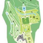 Plan des Labyrinth-Parks (Urheber: Teenck/Wiki Commons)