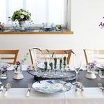2013 ラベンダーのテーブル(春野菜)