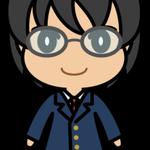 男子学生(ブレザー・黒髪)