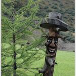 im Vorgarten der Volkzeiner Hütte (Außervillgraten)