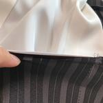 裾合わせです。表・裏・裾芯の3枚を縫い合わせます。