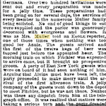 Brooklyn Eagle - The Bridegroom Came Not - Farmer Muller's Daughter Still Waiting - Jan. 31, 1894 pg - 2 continued