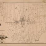 1876 Village of Jamaica, Queens County, N.Y-  M. Dripps map.