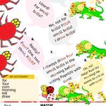 Wymowa angielska dla dzieci komiks