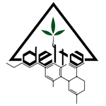 "CBD shop ""delta"" logo"