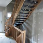 Die Treppe ins Dachgeschoss...