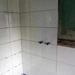 Und sobald die Dusche fertig gestellt ist, können war ja auch schon fast einziehen.