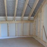 Ein Blick ins andere Zimmer mit dem 140 cm Kniestock. Wir sind sehr froh, uns für den Kniestock entschieden zu haben, um die Raumfläche auch richtig ausnutzen zu können.