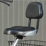 Bequemer Sitz mit Rückenlehne beim Pfau Tec Comfort
