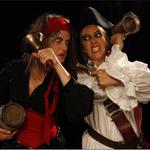 Lames de pirates à Trévières