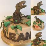 Rrroaaarrrrr - eine T-Rex-Torte zum 5. Geburtstag