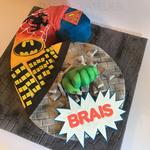 Eine wahre Helden-Torte zum 6. Geburtstag!