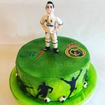 Ronaldo-Fussballtorte