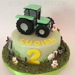 Zum 2. Geburtstag eines kleinen Traktor-Fans