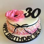 Zum 30. Geburtstag statt Blumen