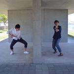 じんさん「○〜め〜は〜め〜」よっちゃん「波ァ!!!」 撮影:山口美優