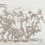 Dalbanne, La danse, monotype, 20,5x29,5