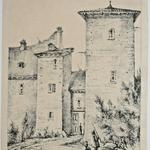 Thierriat, Entrée du chateau de Saint-Paul de Varax