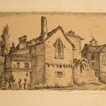 Thierriat, Maison des templiers, la grotte de La Balme, 1858.