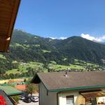 Ausblick vom Balkon zu den Sportaktivitäten