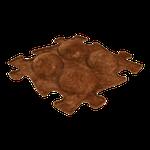 Koko ECO hart Braun