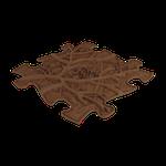 Wurzel hart Braun