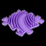 Welle hart Violett