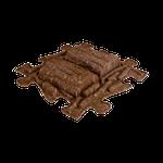 Baumstamm Eco Braun hart