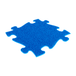 Gras weich Blau