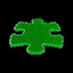Klein - Gras hart Grün