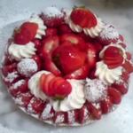 Tarte aux fraises chantilly