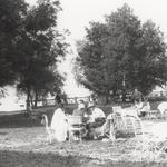 Strandbad Dießen, um 1925