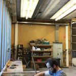 Grillplatzschilder fertigen in der Tischlerei