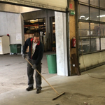 Freitag: Werkstatt aufräumen