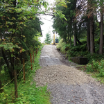 Weg sanieren Zufahrt Kracherbach