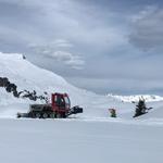 Snow Rabbit 3 am Tannegg, Präparierung Höhenwege