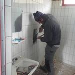 Umbauarbeiten Duschen Waldbad
