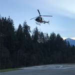 Weiterbildung: Lawinenauslösesprengarbeiten vom Hubschrauber. Praxistag in Ludesch