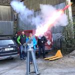 Weiterbildung: Lehrgang zum künstlichen Auslösen von Lawinen durch pyrotechnisches Auswerfen aus Rohren (= Lawinenorgeln).