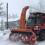 Schneeräumung mit U530