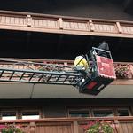 Blumen Gemeindegebäude entfernen