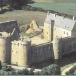 Le château de Suscinio en 1974 avant sa restauration